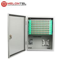 Buy cheap 96 Core Outdoor Server Rack Cabinet SPCC Telecom Wall Mount Type MT 1301 from wholesalers