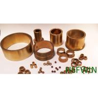 Buy cheap Low Friction Sleeve Bushing Bearing , Copper Plating Cylinder Bushes from wholesalers