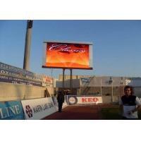 Buy cheap DIP10mm Pixel Pitch Outdoor LED Video Display 800W / Sqm Power Consumption from wholesalers