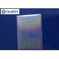 Buy cheap Clear Smart Card Material Overlay PVC Holographic Film For ID Cards / VIP Card from wholesalers