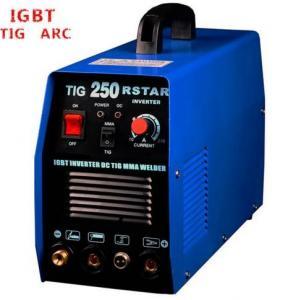 Buy cheap Blue Color Tungsten Inert Gas Welding Machine , IGBT AC DC Welding Machine product