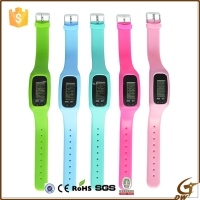 Buy cheap ROHS Silicone Pedometer 1ATM LED Digital Watch Sport from wholesalers