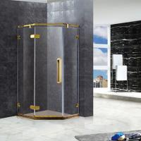Buy cheap SD-A1004 stainless 304 Titanium gold shower cubicles from wholesalers