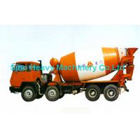 Buy cheap Orange 8x4 16cbm Concrete Mixer Trucks / EURO 2 Diesel Cement Mixer Truck from wholesalers