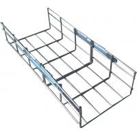Buy cheap Industrial steel galvanized metal vertical straight wire mesh cable tray, 200*100mm from wholesalers