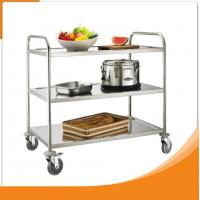 Buy cheap Single Line Kitchen Food Tray Trolley Cart  Stainless Steel for Restaurant from wholesalers