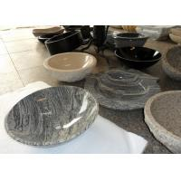 Buy cheap Beige Vanity Stone Countertop Basin For Bathroom / Kitchen SGS Approved from wholesalers