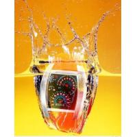 Buy cheap Men RPM Turbo Flash LED Sports Waterproof Car Meter Dial Watch Brand New Gift from wholesalers