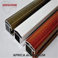 Buy cheap New design extruded aluminum window profile wood grain surface color aluminium profiles from wholesalers