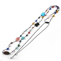 Buy cheap Attractive Adjustable Rope Necklace , Handmade Beaded Jewelry For Party from wholesalers