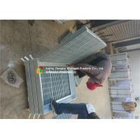 Buy cheap Strong Impact Resistance Hot Dipped Galvanized Steel Grating For Walkway / Drain product