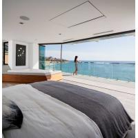 Buy cheap beach house sightseeing glass windows,ultra clear SGP laminated safety glass from wholesalers
