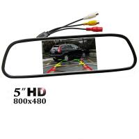 Buy cheap Easy Installation Car Rear View Mirror Monitor 5 TFT - LCD Display Screen from wholesalers