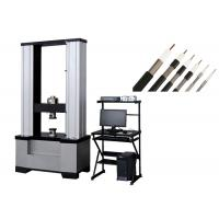 Buy cheap Tensile strength and elongation testing machine for single copper-clad metal rod in coaxial communication cables from wholesalers
