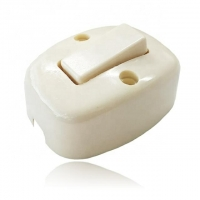 Buy cheap Electrical Cord Line Inline White ABS Wall Switch Socket from wholesalers