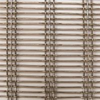 Buy cheap Flexibility Architectural Wire Mesh Panels , Decorative Brass Mesh Fabric from wholesalers