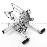 Buy cheap CNC Aluminum Motorcycle Rear Sets For APRILIA RSV4 (R Factory)  09-10 from wholesalers