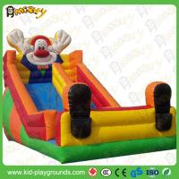 Buy cheap Huge Plastic Inflatable Slide / Water Slide Jumpers for Adults and little kids from wholesalers