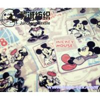 Buy cheap Mickey Mouse Printed Flannel Baby Blanket Fabric Coral Fleece for apparel/bed sheet from wholesalers