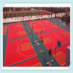 Buy cheap Interlocking Polypropylene Indoor Futsal Flooring from wholesalers
