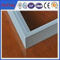 Quality Silvery Anodized Aluminum frame for PV solar module manufacturer for sale