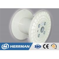 Buy cheap Multi Color Wire Cable Accessories Plastic Cable Reels / Plate Type Wire Bobbin from wholesalers