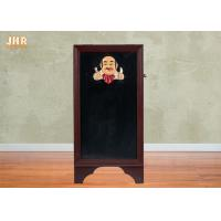 Buy cheap Outdoor Wood Framed Double Sided Menu Board 3D Polyresin Chef Figurine Restaurant Decor from wholesalers
