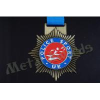 Buy cheap Star Shaped Medals Promotional Items , Personalized Medals And Ribbons from wholesalers