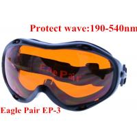 Buy cheap 355nm UV laser protective glasses / 10.6um CO2 laser safety goggles from wholesalers