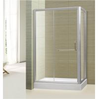China tempered glass frameless straight corner shower door,shower booth,shower room furniture on sale