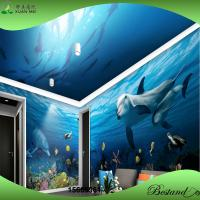 Buy cheap Whole room design Dustproof 3D ocean wall mural like painting on wall from wholesalers