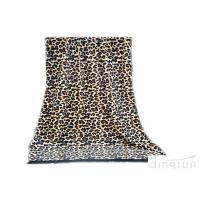 Professional Sexy Leopard Custom Printed Beach Towels With Tassel