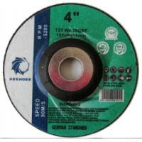 Buy cheap T27 type grinding disc for metal from wholesalers