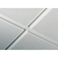Buy cheap High performance Aluminum Clip In Ceiling Tiles 2x4 With Straight Or beveled Edge from wholesalers