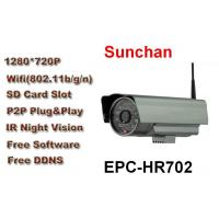 Buy cheap HD Wireless P2P IP Cam With 32G SD Card , 24 Hour Monitoring from wholesalers
