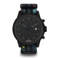 Buy cheap Preofessional Nylon Band Watches Mans / Women'S Black Stainless Steel Watch from wholesalers
