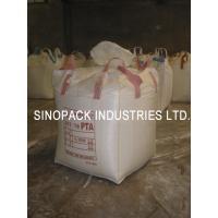 PTA packing Big Bag FIBC , Four-Panel bulk Pellet Big Bag circular