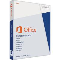 Buy cheap DVD Activation Microsoft Office 2013 Professional Plus Genuine 64 Bit from wholesalers