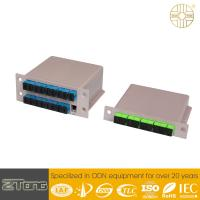 Buy cheap 2*32/1*64 PLC Fiber Optic Splitter For Data Communications Optional Input & Output from wholesalers