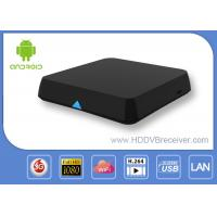 Buy cheap Dual Channel WIFI Blutooth Xbmc Android Smart TV Box Media Player 2.4GHz / 5.0GHz from wholesalers