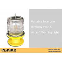 Buy cheap Single L810 Obstruction Light  FAA Automatically Operation , Solar Led Warning Light from wholesalers