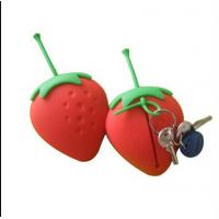 Buy cheap fashionable silicone key chain covers  ,cute shape silicone key  bag product