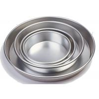 Buy cheap Round Bread Baking Equipment Aluminium Bakeware Pizza Pan Anode / Super Hard Anodic from wholesalers