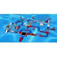 Buy cheap Giant Exciting Inflatable Aqua Park / Inflatable Playground With Slide 50 * 35m from Wholesalers