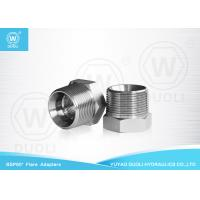 Buy cheap Carbon Steel Hydraulic Nipple Pipe Fitting with BSPT Male And BSP Female Thread from wholesalers