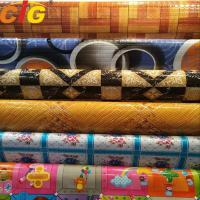 Buy cheap Multi Color Printing Waterproof PVC Floor Covering 0.35 - 1.2mm Thickness product