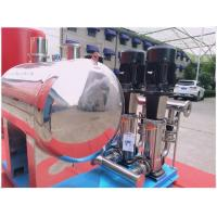 Buy cheap Red Color Diaphragm Water Storage Tanks For Fire Protection 8mm Thickness product