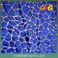 Buy cheap Contemporary upholstery fabric Cut Pile Velvet Polyester Viscose product