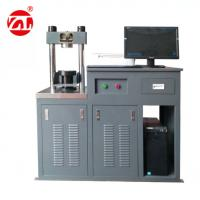 Buy cheap Full - Automatic Resist Bending Compression Testing Machine 300kN / 10kN from wholesalers