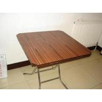 Buy cheap Solid wood panel mobile household Folding table MQ - 3001 model from wholesalers